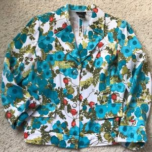 LAST Call ** Floral jacket
